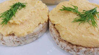 Рыбный паштет с сыром и овощами