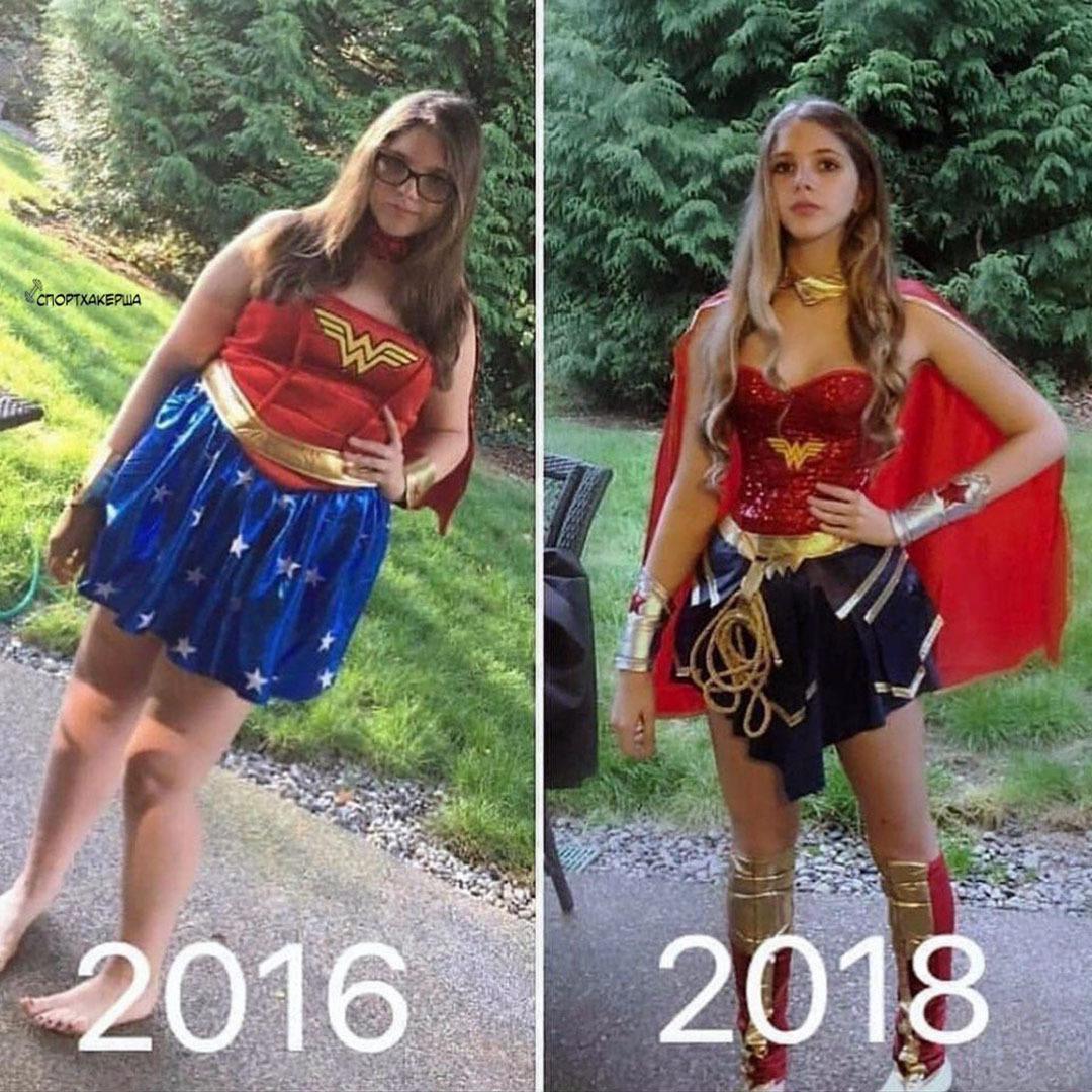 Супергеройское преображение