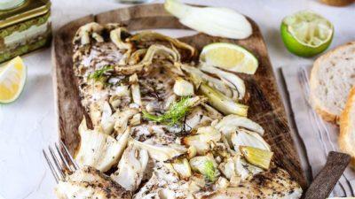 Ароматная рыба с фенхелем