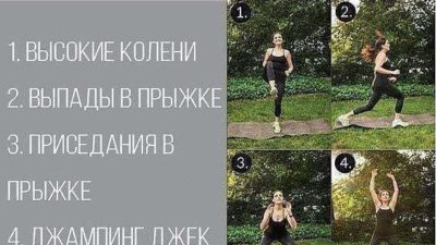 Тренировка по системе Табата делаем каждое упражнение 20 секунд 10 отдыхаем.