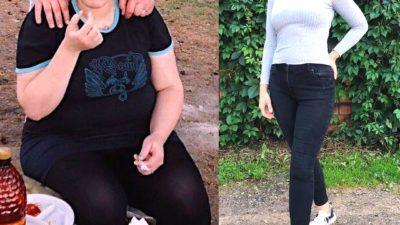 Похудела на 65 кг, как вам такой результат?