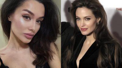 Девушка с Кавказа, которая так похожа на Джоли, что удивился бы даже Питт