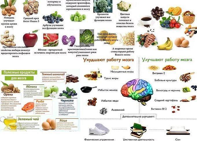 Полезные продукты для твоего организма