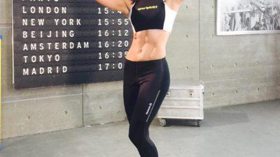 Настя Самбурская — самая спортивная актриса России