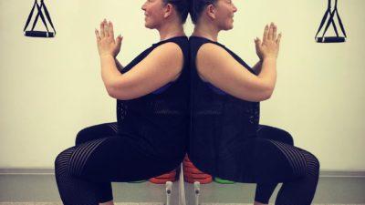 Екатерина Скулкина усердно тренируется