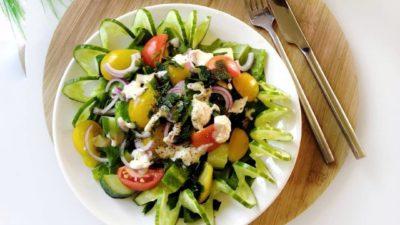 Топ 5 легких салатов к ужину