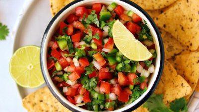 """Мексиканский соус-сальса """"Пико-де-гальо"""""""