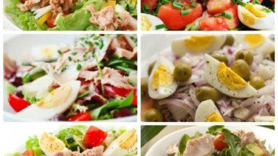 6 идей для фитнес-салата с консервированным тунцом