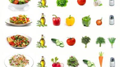 Подборка летних салатиков