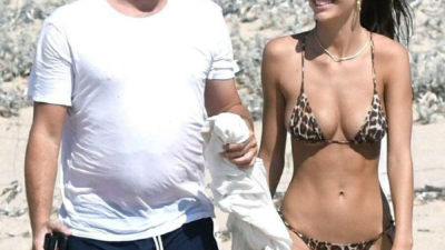 Леонардо Ди Каприо и его девушка - 22-летня Камила Морроне.