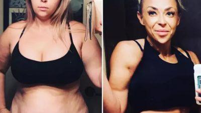 Минус 40 кг и стальные мышцы, сколько же сил было вложено