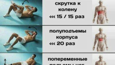 Подборка комплексов упражнений