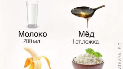 Протеиновый коктейль в домашних условиях.