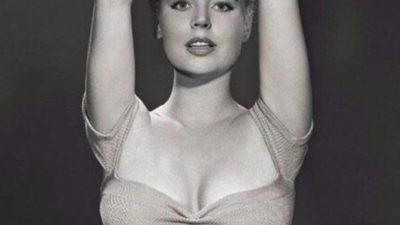 Бетти Бросмер — обладательница самой шикарной фигуры 50-х годов, её талия составляла около 50 см