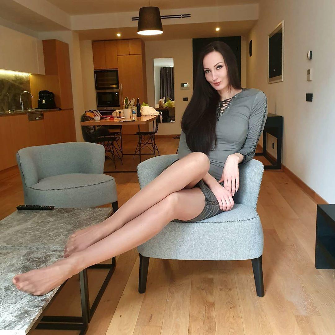 Красавица Екатерина Лисина с удивительно длинными ногами - 132 см