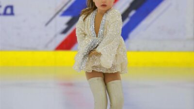 Маленькая будущая чемпионка