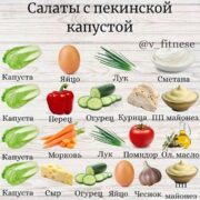Подборка вкусных салатов