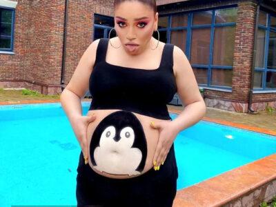 Беременная фотосесси похудевшей красотки Гоар Аветисян