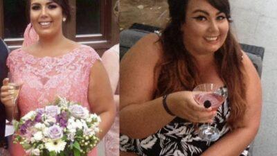 Девушка похудела на 57 кг ради свадьбы своего отца