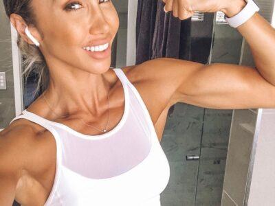 Шантель Дункан — фитнес-мама, которая восхищает