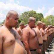 В Таиланде полицейских с лишним весом стали отправлять в спортивный лагерь