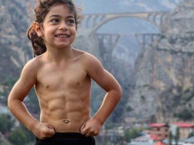 6-летний иранский мальчик стал звездой Инстаграма, благодаря своему накаченному телу
