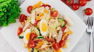 Белковые салатики
