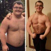 Парень с синдромом Дауна привёл себя в форму и готовится выступить на соревнованиях по бодибилдингу