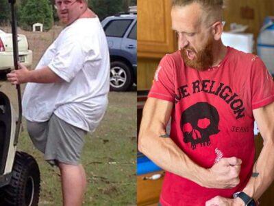 «Думал, что умру»: 227-килограммовый мужчина избавился от лишнего веса и вернул своё здоровье