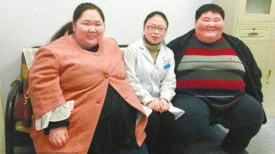 Пара похудела с 200 кг до 100 кг