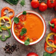 Испанский холодный суп «Гаспачо»