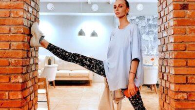 Екатерина Варнава и её бесконечно длинные и красивые ноги