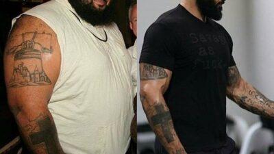 Паскаль Брокко: из 274 кг толстяка в 127 кг атлета за 3 года