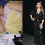 Надежда Ангарская до и после похудения