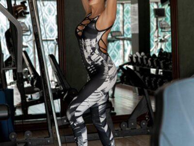 Эвелина Блёданс, которая не забывает про спорт и ведет активный образ жизни, правильный пример