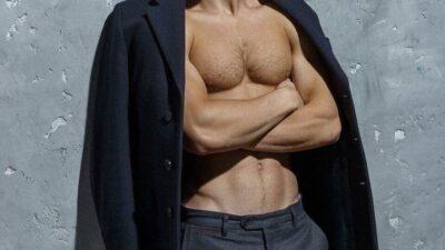 Повзрослевший сын Олега Газманова.
