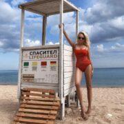 Красотка - 45-летняя Яна Рудковская