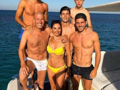 Спортивное семейство Зинедина Зидана!