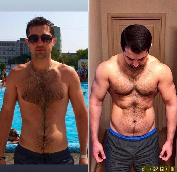 Набрал 22 кг мышечнoй массы, как вам?