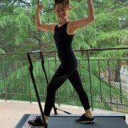 Валентина Рубцова усердно занимается спортом и выглядит потрясающе