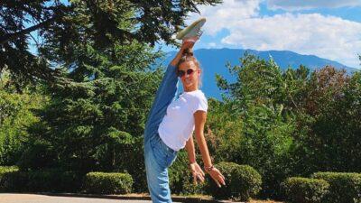 Гимнастка Селезнёва показала впечатляющую растяжку