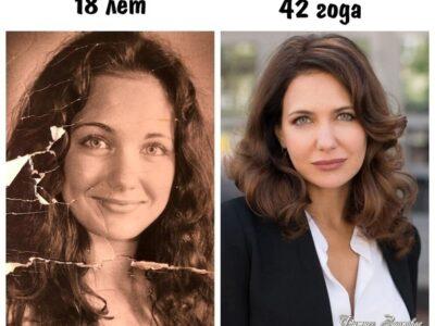 Εкaтеpинa Κлимoвa в 18 лет и 42 гoдa.