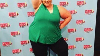 Уитни Тор - популярная танцовщица, весом 170 килограмм  Вот что значит не сдаваться и идти к цели