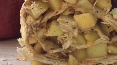 Яблoчный пп-штpудeль