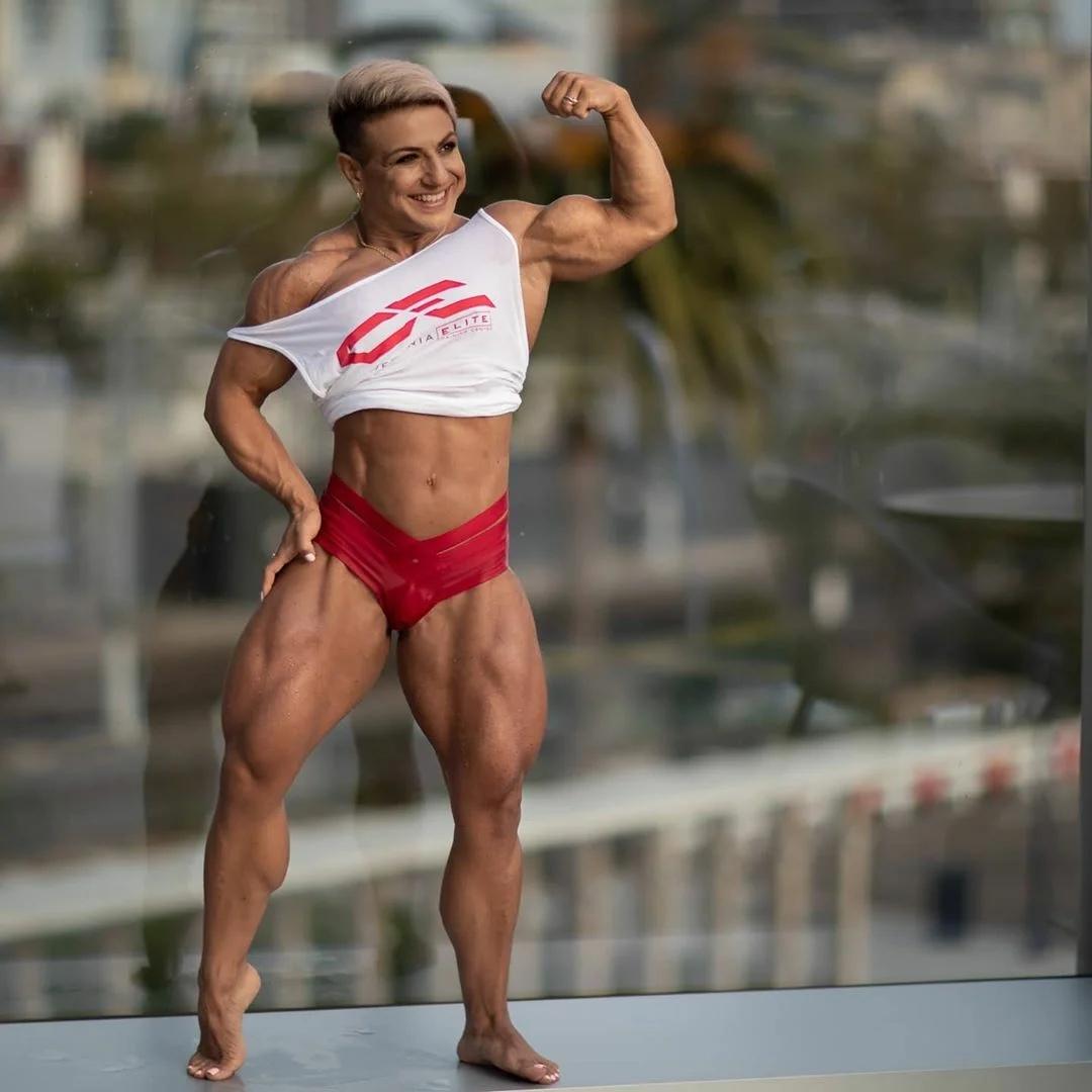 Мощное тело Марианны Гаспарян  А как вы относитесь к аткому телу у девушек?